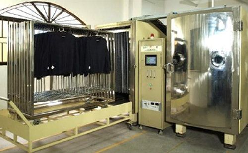 Textile and Garments Plasma Treatment System for fabric functionalities and anti-pilling treatment of wool/cashmere knitwear