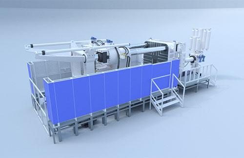 生產力局與本地機械廠合作開發了大型兩板冷室壓鑄機,顯著提升大型壓鑄件的強度和品質。