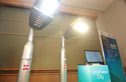 物聯網無線網絡智能系統 遠距離 低耗電 實時監控路燈運作