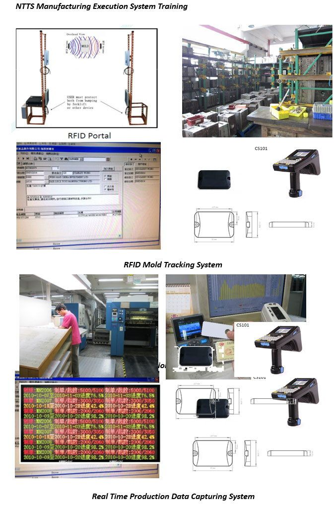 Real-Time Manufacturing Tracking System