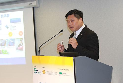 单铭贤建议企业按照本身的业务性质及发展程度,制定合适的路线及策略。