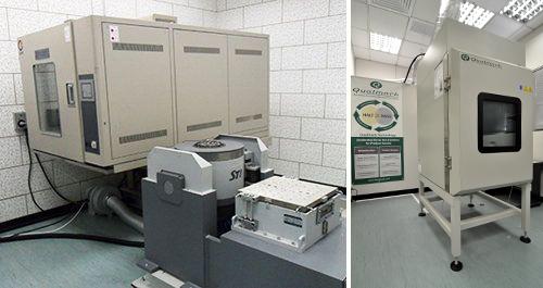 Reliability testing center equipment