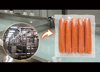 Rapid Chilling System For Hot Packaged Food