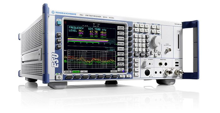 High-end EMI Test Receiver for laboratory measurement