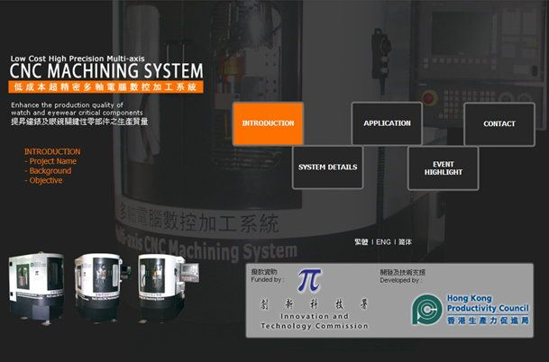 Low Cost High Precision Multi-axis CNC Machining System