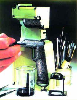模具表面蚀纹处理