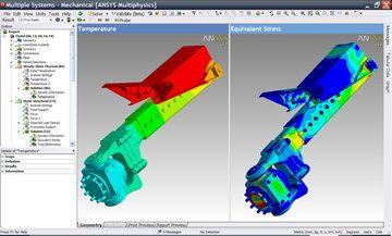 模拟塑胶产品设计及安全测试分析软件ANSYS