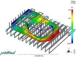 注塑流动分析软件MoldFlow