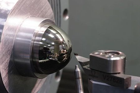 Ultra-precision single point diamond turning