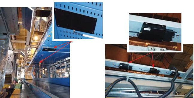 旅客辦理登機手續後,行李送往20米長的輸送帶上,輸送帶裝設了26個「智能無線射頻識別功能限制系統」裝置及天線。