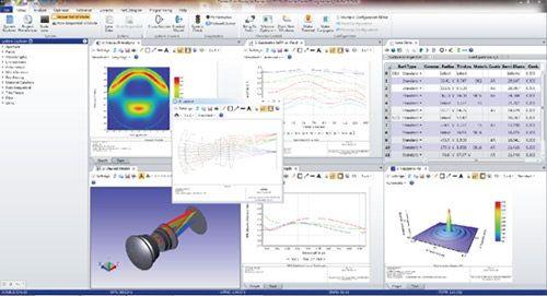 电脑辅助光学设计及光学样板制作