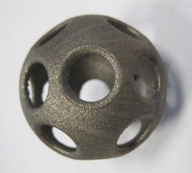 3D-printed metal part