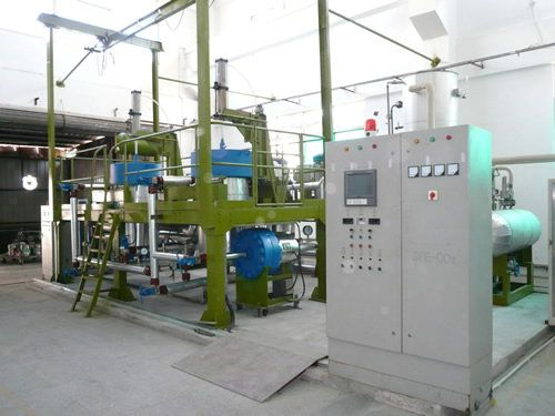 Supercritical fluid waterless dyeing system