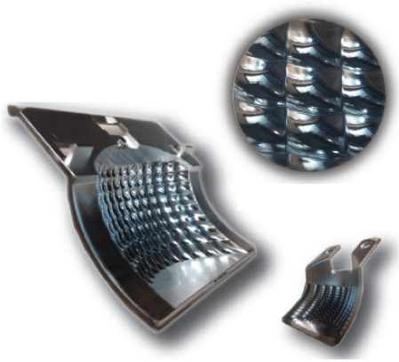 Retail and office lighting reflector