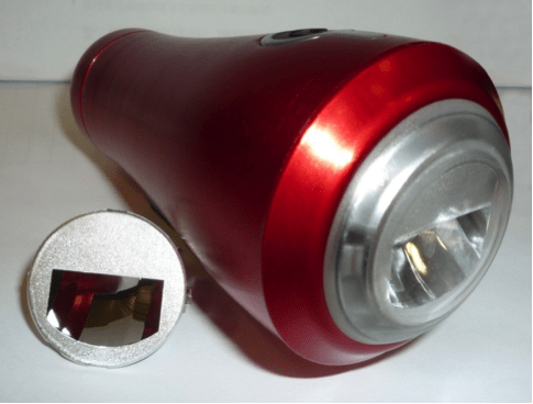 Bicycle lamp prototype