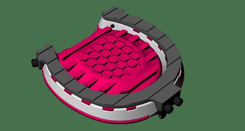 運用「混合式金屬3D打印技術」,為馬匹「度蹄」訂造穩固、避震兼易於更換的馬蹄鐵。