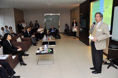 生產力局主席陳鎮仁主持「HKPC集思匯」,與業界共同探討「十二五」規劃之環保機遇及挑戰