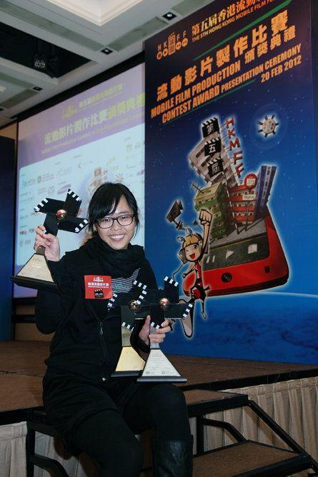 《相簿二三事》獲得三項大獎,成為比賽的大贏家,影片由莫韻兒製作。
