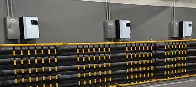 Smart EV Charging Station Load Management System