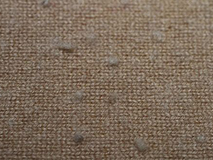 Pilling test result of knitwear without plasma pre-treatment