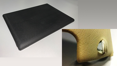 PU-thermoplastic Overmoulded Product (Panel with leather-like appearance)