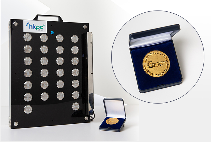 「kNOw Touch無觸按鈕」方案於「日內瓦國際發明展2021」榮獲最高級別的「評審團特別嘉許金獎」,顯示出生產力局為社會防疫抗疫出一分力的科研成果。
