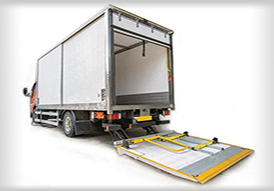 觸覺式貨車尾板安全系統